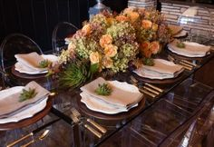 Thanksgiving Table setting Ideas <table setting> #Table #setting
