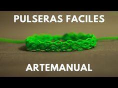 pulseras de hilos rapidas y faciles | tutorial macrame – theartemanual