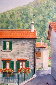 Tuscany  Oil cm. 30x40