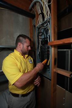 Dan Jape Reliable Heating & Air Electrical Division. We can help you have that extra bedroom or home theater by providing you enough open electrical spots so you can expand.