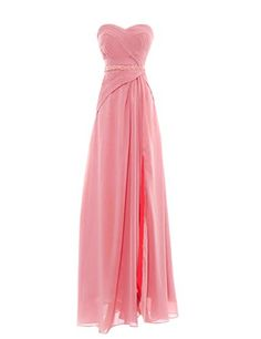 2c673e7d7499 Chiffon, Prom Dresses, Formal Dresses, Evening Dresses, Pretty In Pink,  Bridesmaid, Gowns, Clothes, Fashion