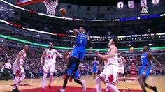 Russell Westbrook BREAKS Defender's Ankles w/ Crossover, D-Wade Spin Move Highlights Thunder/Bulls - http://www.truesportsfan.com/russell-westbrook-breaks-defenders-ankles-w-crossover-d-wade-spin-move-highlights-thunderbulls/