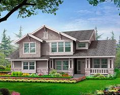Plan No: W23328JD Style: Northwest, Craftsman Total Living Area: 2,407 sq. ft. Main Flr.: 1,239 sq. ft. 2nd Flr: 1,168 sq. ft. Attached Garage: 3 Car, 470 sq. ft. Bedrooms: 3/4 Full Bathrooms: 2 Half Bathrooms: 1