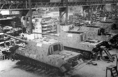 King Tiger Tank Military Factory | Tagged jagdtigers in factory . Bookmark the permalink .