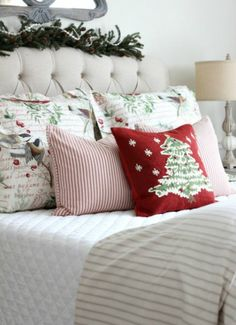 Christmas in the French Style Guest Room