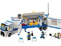 Poursuis les voleurs avec l'unité de police mobilehigh-tech !