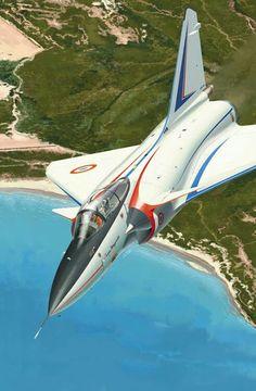 SUPER MIRAGE 4000. FRANCE AIR FORCE