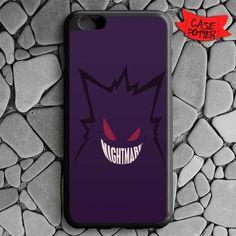 Nightmare Gengar Pokemon iPhone 6 Plus iPhone 6S Plus Black Case