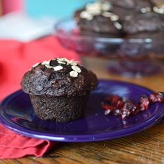 Chocolate Beet Muffins HealthyAperture.com