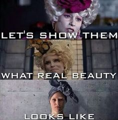 Effie in all three movies now THATS real beauty :' )