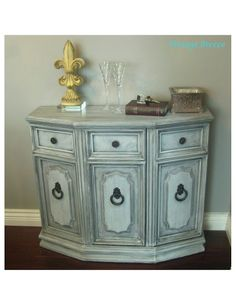 Chalk paint made with unsanded grout