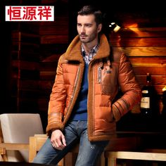 Heng YUAN XIANG 2013 male brand down jackets winter  $185.00