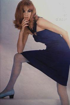 Jean Shrimpton in Vogue Paris August 1965 photographed by Guy Bourdin (Scan thanks to Jane Davis) Guy Bourdin, Fashion Images, Fashion Models, Fashion Beauty, Daphne Blake, French Fashion, Vintage Fashion, Jean Shrimpton, Sixties Fashion