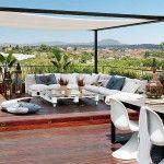 Ideas de sala para terrazas