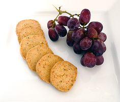 Parmesan & Thyme Crackers