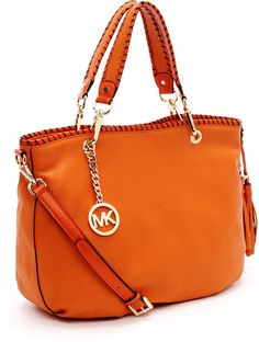 Large Bennet Tote, Tangerine - Lyst