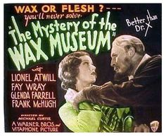 The Mystery of the Wax Museum (1933) Movie poster