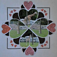 Layout Created by Karen Morley using LeaFrance Romance Stencil