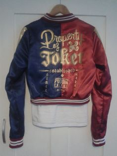 Harley Quinn Suicide Squad Cosplay Jacket by JesschiiCosplay Harley Quinn Halloween, Joker And Harley Quinn, Harely Quinn, Daddys Lil Monster, Beautiful Disaster, Cosplay Outfits, Halloween Costumes, Cute Outfits, Costumes