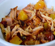Crockpot Pineapple Pulled Pork that's sweet, spicy, tangy, and oh-so-rich and buttery!