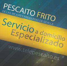 El servicio a domicilio especializado de las mejores freidurias #Sevilla http://www.telepescaito.es