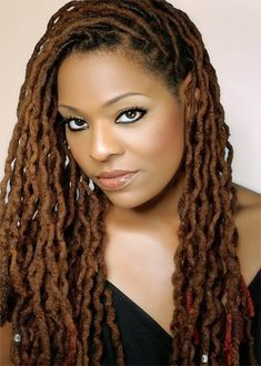 Black Women Natural Hairstyles: Loc Hairstyles