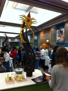 Chocolate sculptures at the 2013 NZ Chocolate Festival. Image: NZ Chocolate Festival