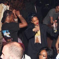 #Rihanna x Azealia x Travis Scott