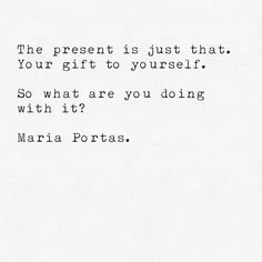 The Present. #presence #time #thenow by mariaportas