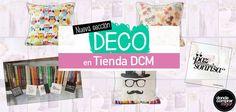 »» ¡Nueva sección DECO en Tienda DCM «« Visitá www.tiendadcm.com y mirá todas las novedades.