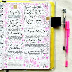 Today's @lifecapturedinc journaling prompt: what are the qualities you value in…