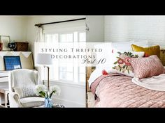 Styling Thrifted Decorations, Pt 10 - YouTube Homemaking, Thrifting, Interior Design, Bed, Decorations, Furniture, Youtube, Home Decor, Style