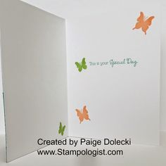 Paige Dolecki - Stampologist: May SOTM Blog Hop - Just Sayin'
