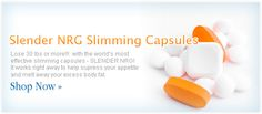 SLENDER NRG Slimming Capsules will take care of those stubborn pounds in no time what so ever.