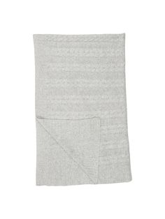 Buy Grey Croft Collection Cable Knit Throw from our Throws, Blankets & Bedspreads range at John Lewis & Partners. Cornwall Cottages, Cable Knit Throw, Knitted Throws, Soft Furnishings, Linen Bedding, Gray Color, 2nd Floor, Wool