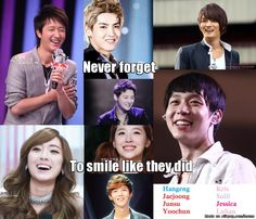 Even with all this drama... don't forget to smile <3 | allkpop Meme Center