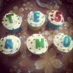 Cup cakes 5 meses