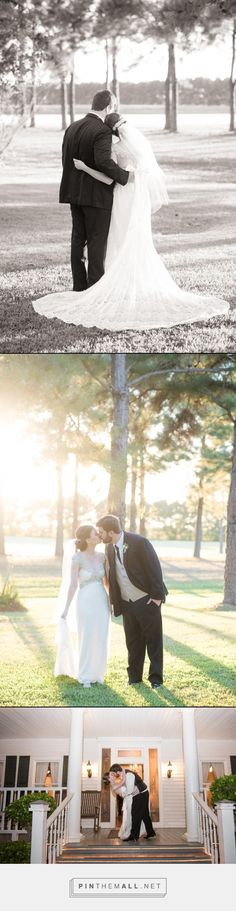 Bride and groom pics in October by Eric & Jenn Photography at House Plantation in the Houston area.