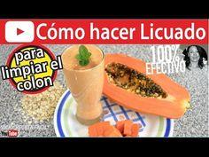 LICUADO PARA LIMPIAR EL COLON | Vicky Receta Facil