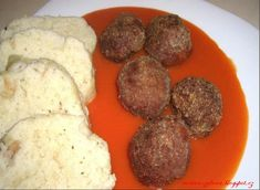 Druh receptu: Jedlá s mäsom - Page 45 of 56 - Mňamky-Recepty. Types Of Food, Sausage, Menu, Ethnic Recipes, Menu Board Design, Recipes, Sausages