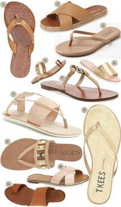 The Best Neutral Sandals for Summer! www.charmingincharlotte.com