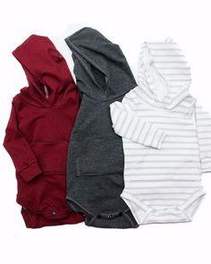 Baby boy fall clothes, Hoodie Onesie, hooded #babyboyhoodie