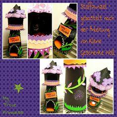 Die genähte Version zeige ich Euch nächste Woche... boohooo und Happy Halloween