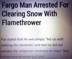 How else would you get rid of your snow? - Imgur