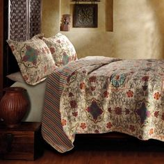 Greenland Home Fashions Esprit Spice Quilt Set
