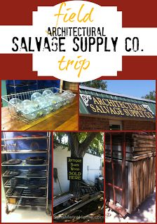 Want to go... Architectural Salvage Co. in OKC