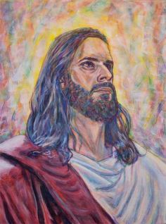 Portrait of the LORD Jesus Christ.