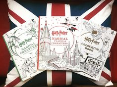 We want them all! Harry Potter Colouring Books!