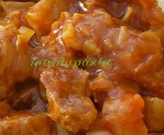 sauce aigre douce ( et Proteine de soja)