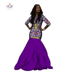 Long Party Dresses - BRW 2017 New African Dresses for Women Mermaid Long Party Dress Plus Size African Print Dresses Dashiki Bazin Femme WY232 #Affiliate - Winter is here, and with it the latest fashion trends